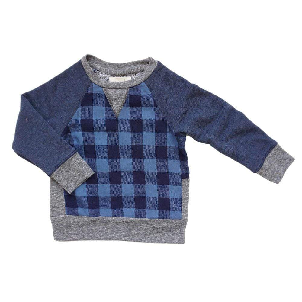 Little Dudes big bear / nb Iggy Pullover Big Bear