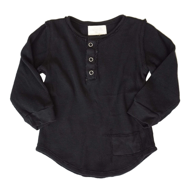 Parker Boys Henley Black