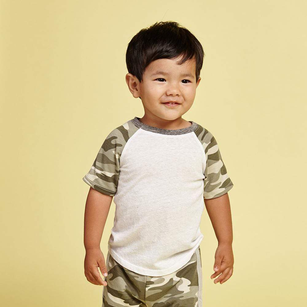 Little Dudes Erick Raglan Tee Top Gun