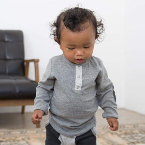 Little Dudes Fox Henley Eclipse