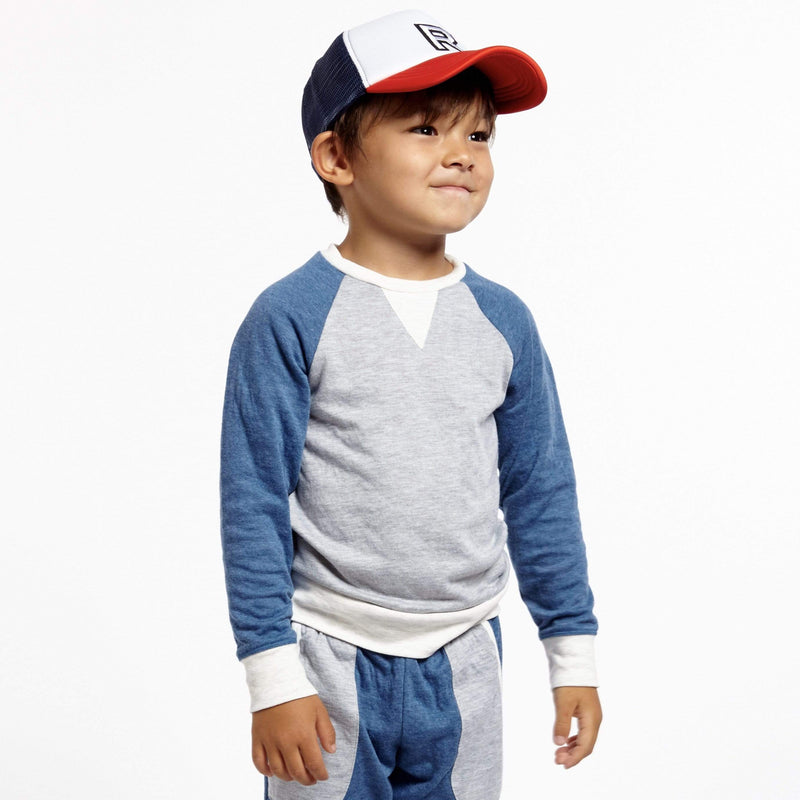 Little Dudes Iggy Pullover Fog