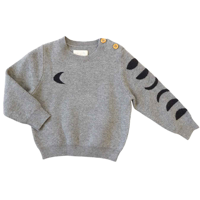 Indiana Sweater Over the Moon Grey