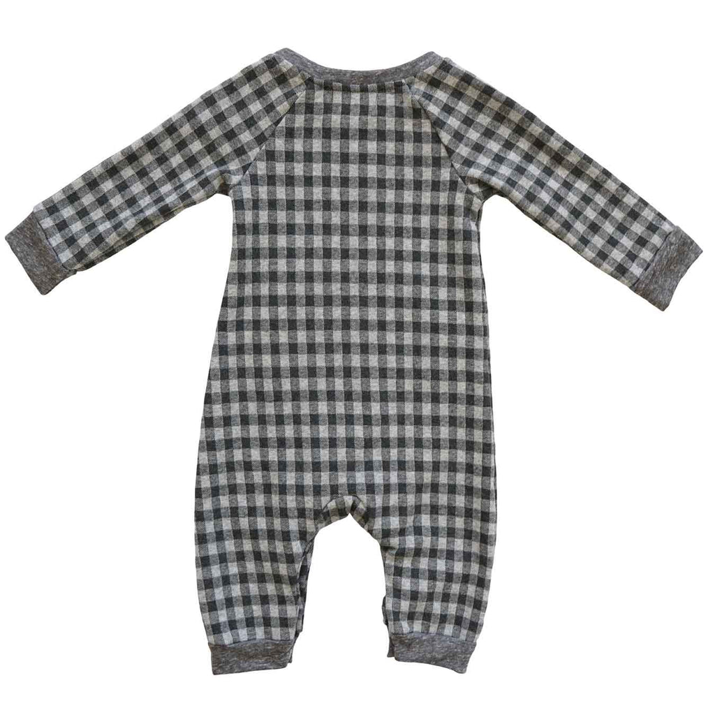 Leo Romper Noel Grey Check