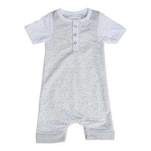 Little Dudes Teddy Romper Acapulco
