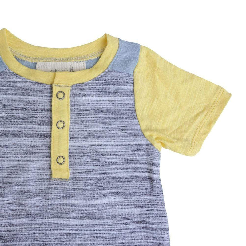 Little Dudes Teddy Romper Topanga
