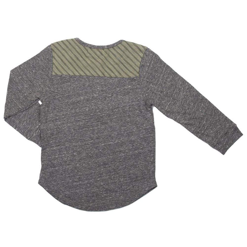 Little Dudes Tommy Long Sleeve Henley Rumble