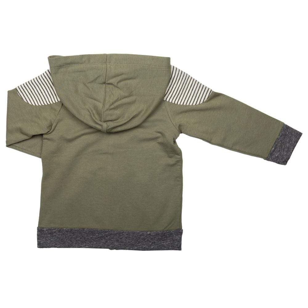 Little Dudes Travis Zip Up Hoodie Scout