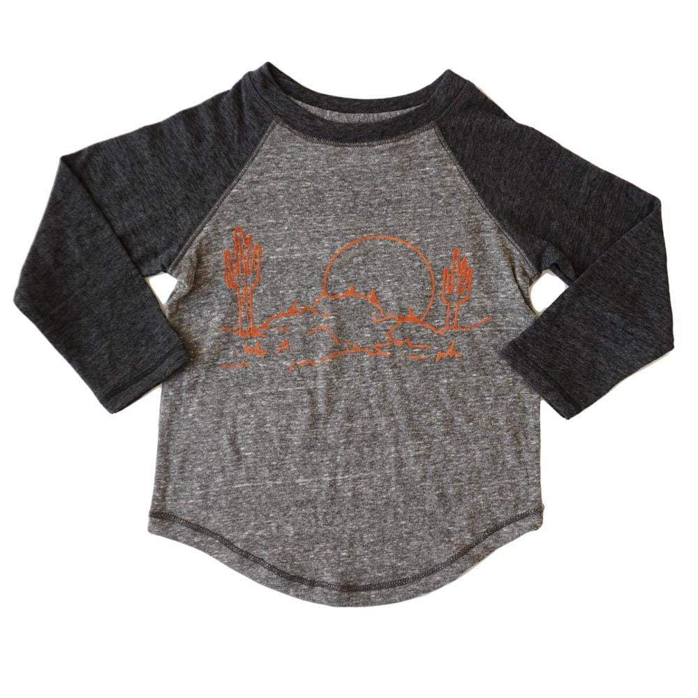 little dudes wild west / 3m Wild West Boys Long Sleeve Raglan