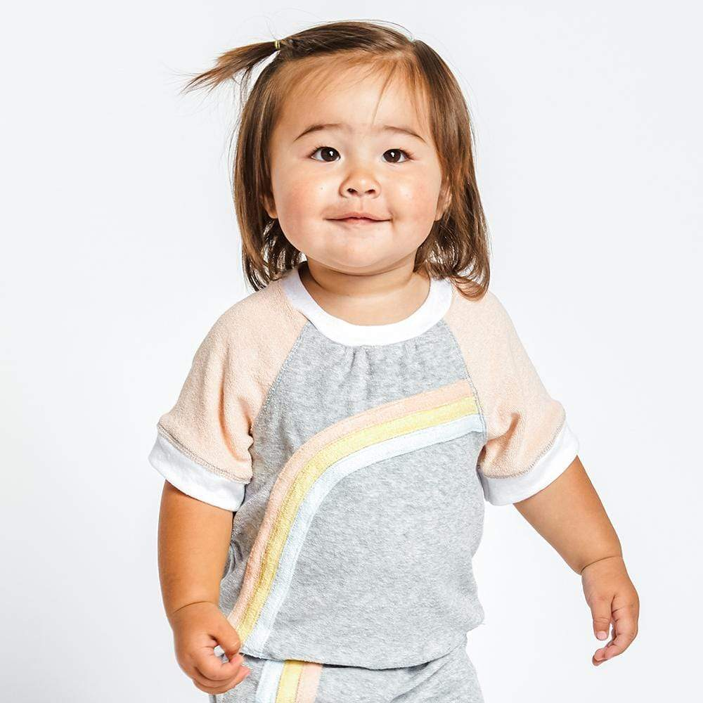 Little Gals Anni Short Sleeve Pullover Roller Disco