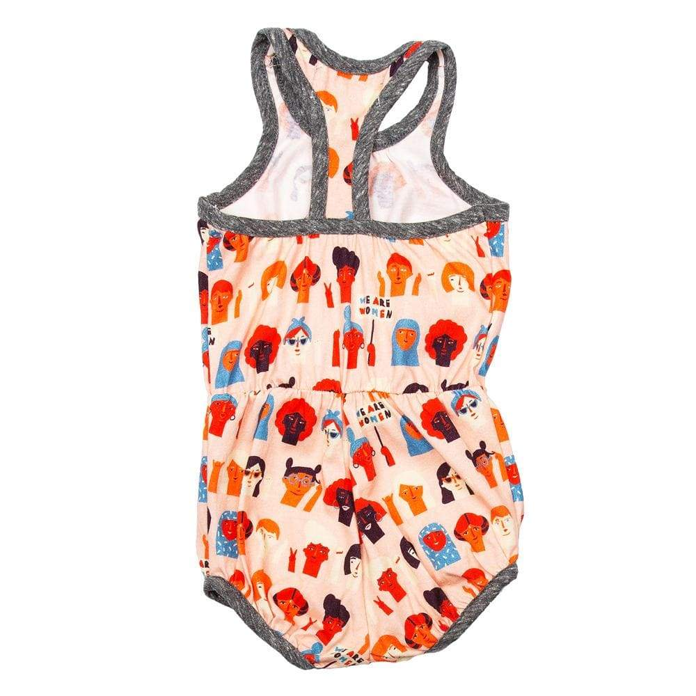 Little Gals Everly Bubble Romper We Are