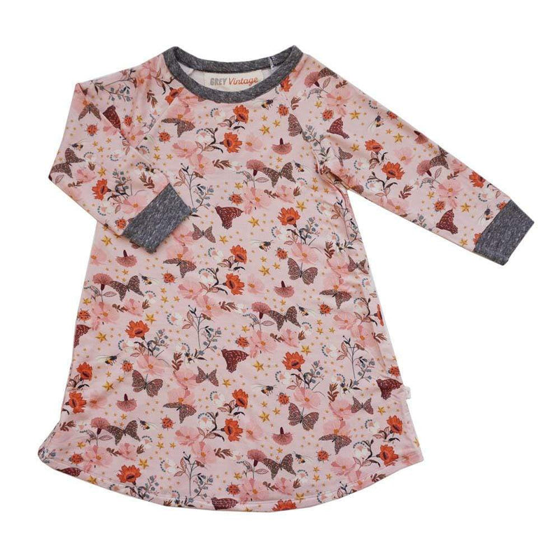 Samara Girls Dress Garden Wonderland