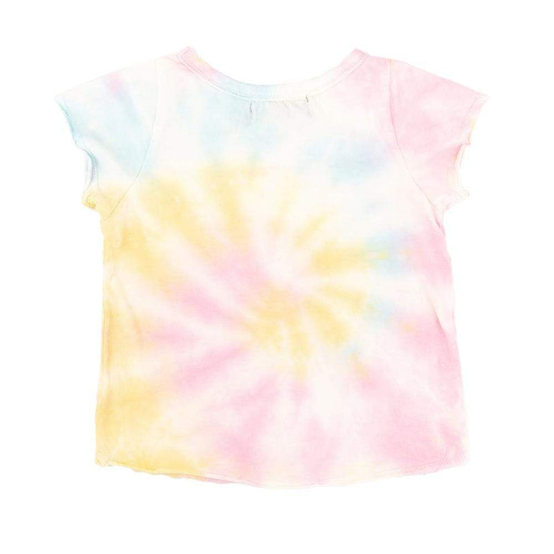 Little Gals Greatest of All Time Pink Tie Dye