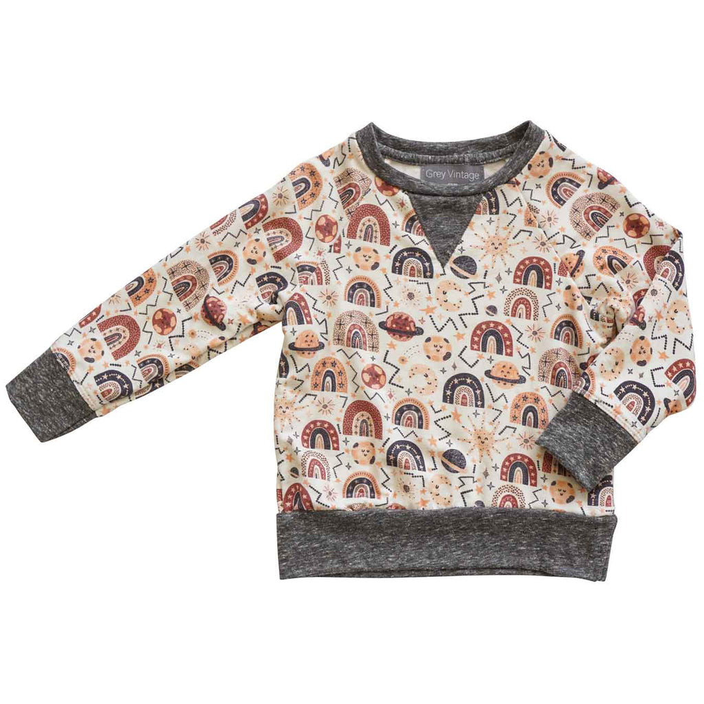 Little Gals Iggy Sweatshirt Rainbow AW20