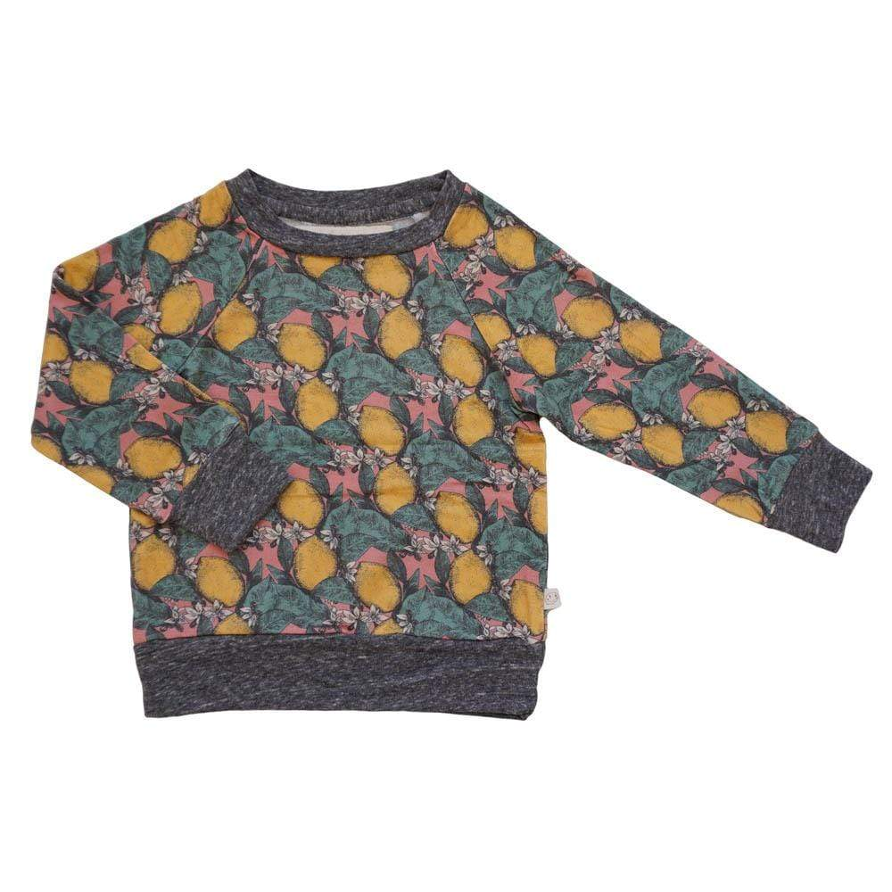 little gals lemon tree / 3m Iggy Girls Pullover Lemon