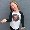 Little Gals LP Girls Long Sleeve Raglan