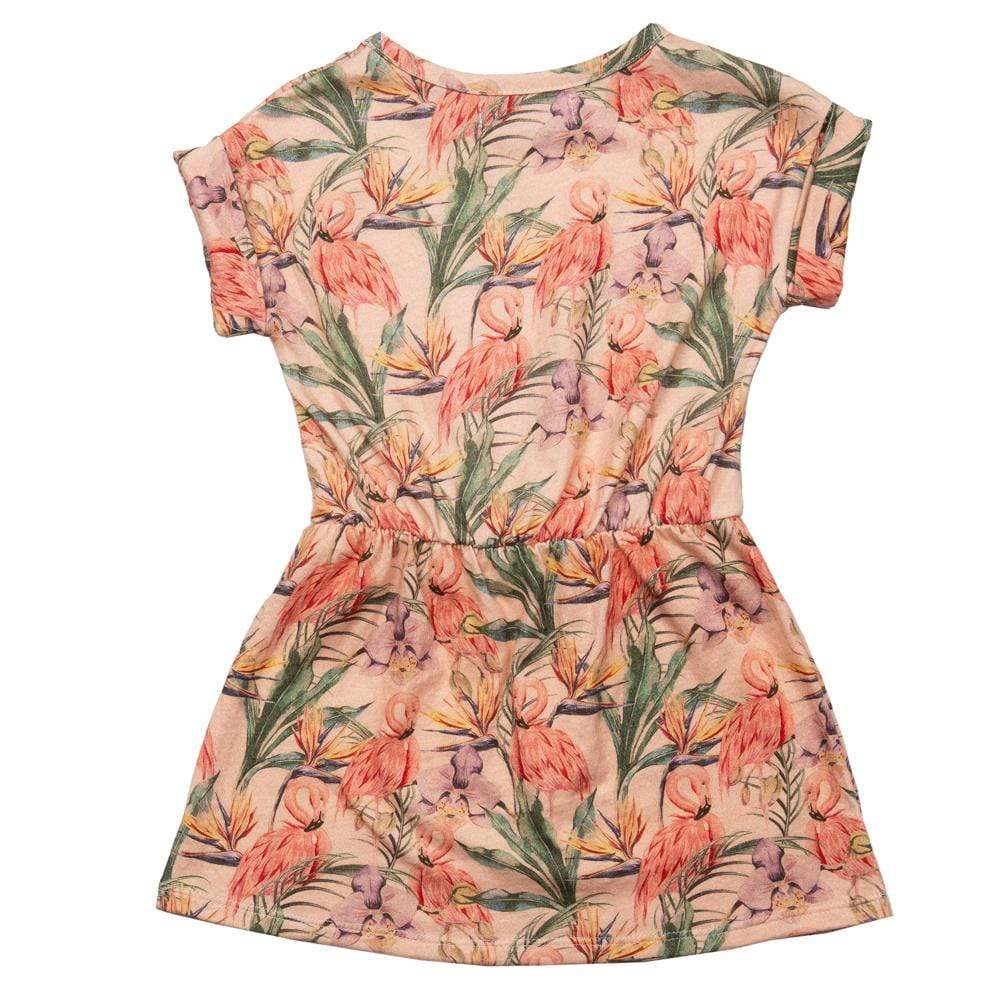 Maxime Dress Flamingo