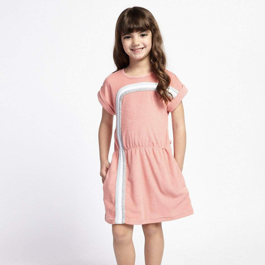 Little Gals Maxime Dress Sorbet