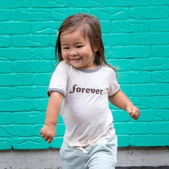 Little Gals Retro Say Anything Tshirt Forever