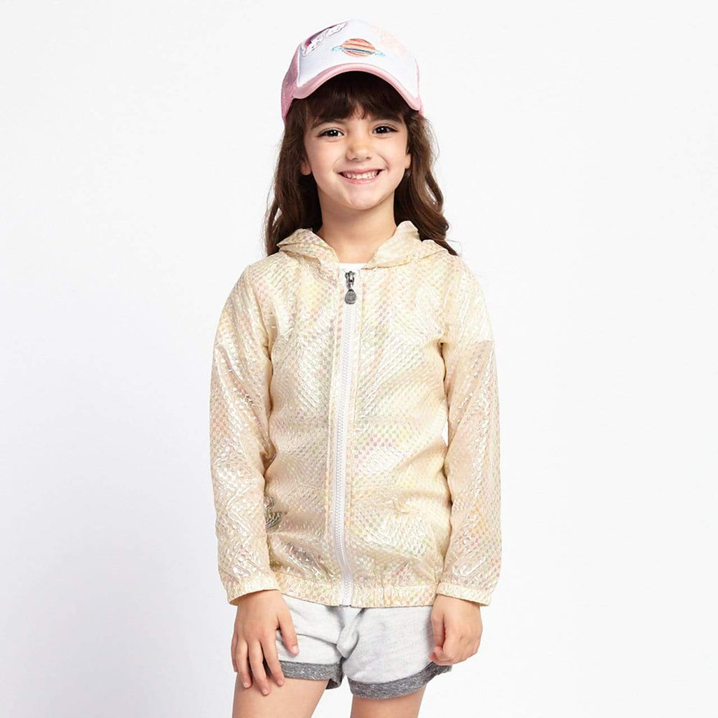 Little Gals Sora Rain Jacket Sand