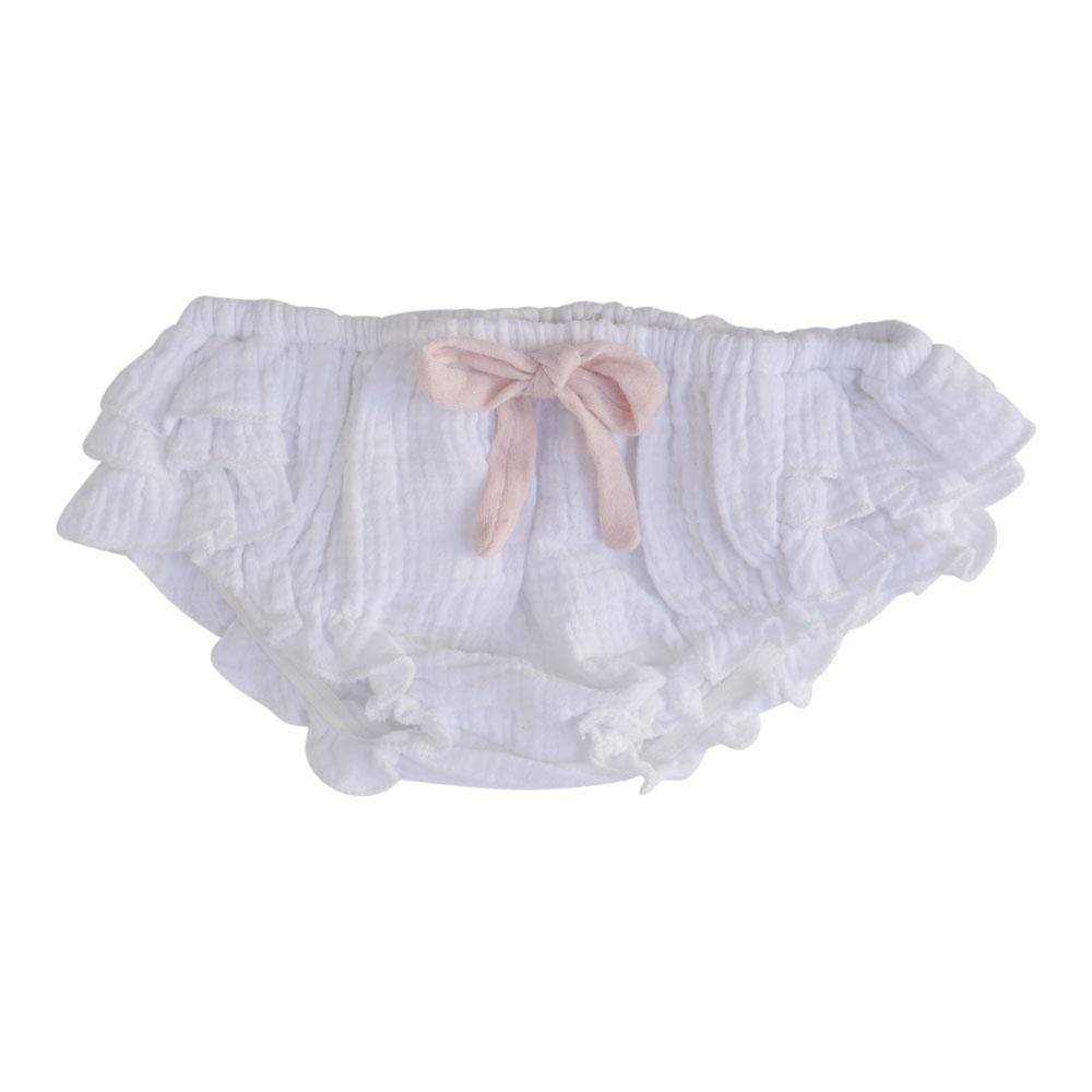 Little Gals Tessa Bloomers Bali White
