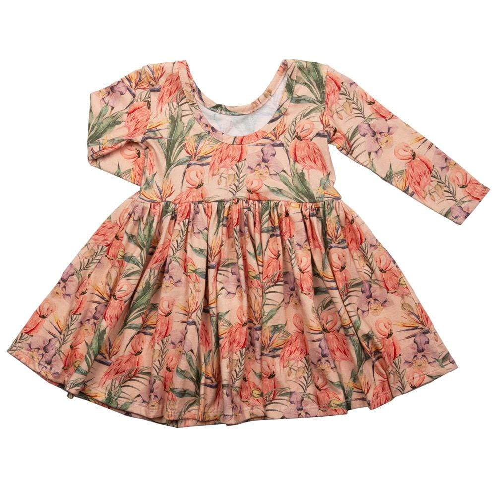 Twirl Dress Flamingo