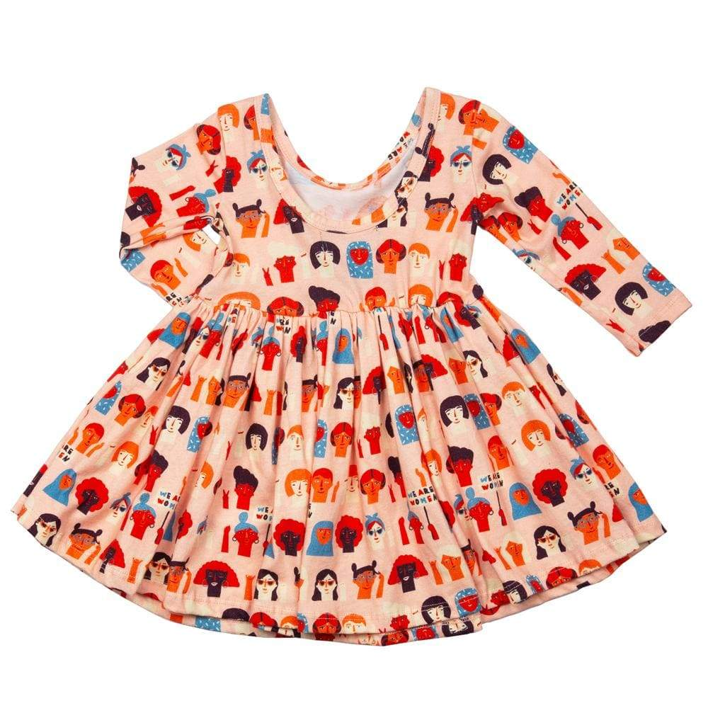 Little Gals Twirl Dress We Are