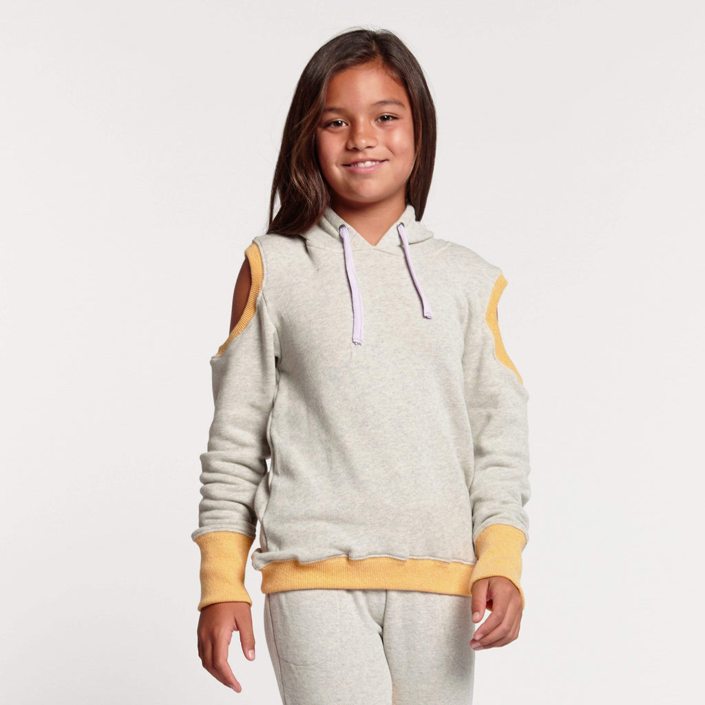 Tween Pam Cold Shoulder Hoodie Ridgemont High