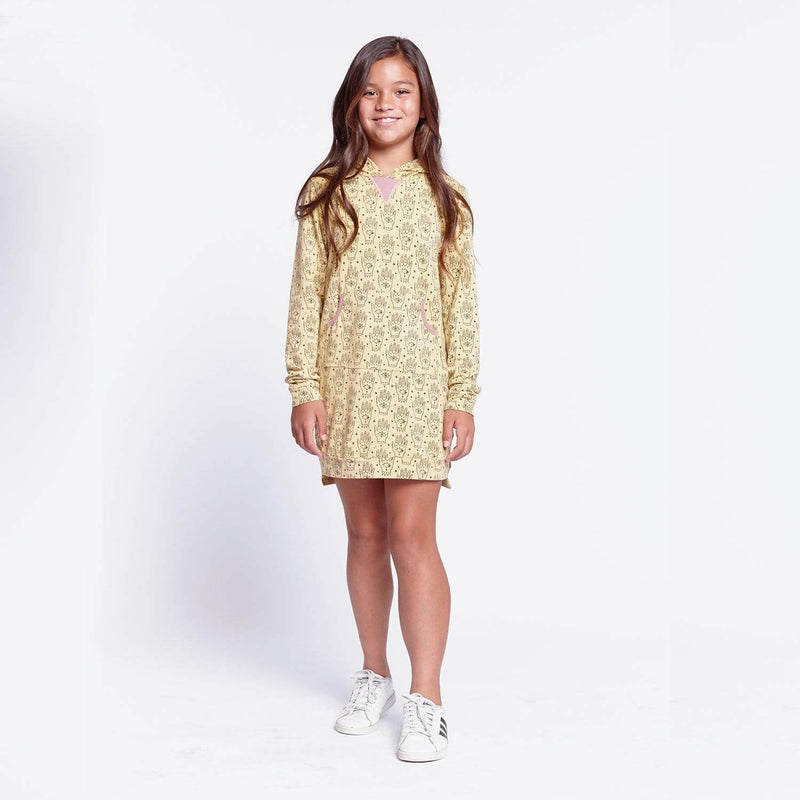Zoe Hooded Tween Dress Hamsa