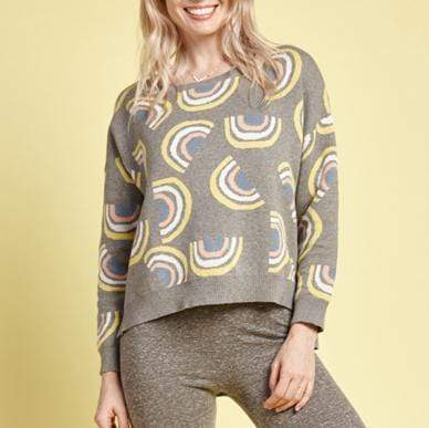 Womens Mama Rowena Sweater Rainbow