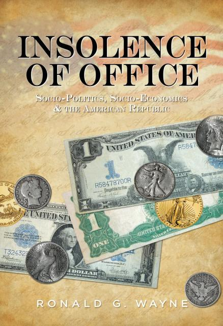 "Autographed copy of ""Insolence of Office"""