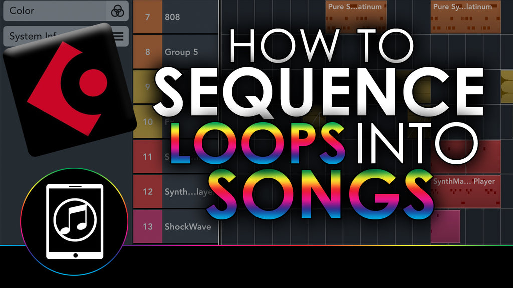 How To Sequence Your Loops Into Songs in Cubasis 3