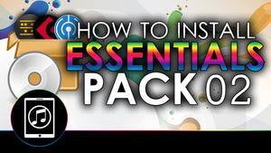 How To Install Essentials 02 Sample Pack