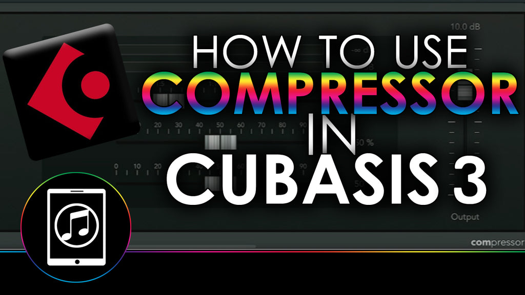 How To Use Compressor Plugin In Cubasis 3