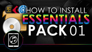 How To Install Essentials 01 Sample Pack