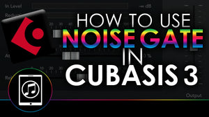How To Use Noise Gate In Cubasis 3