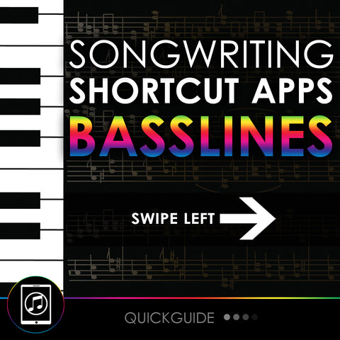 Songwriting Shortcut Apps - Basslines
