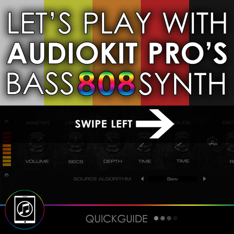 Let's Play With Audiokit's Limited Edition Bass 808 Synth