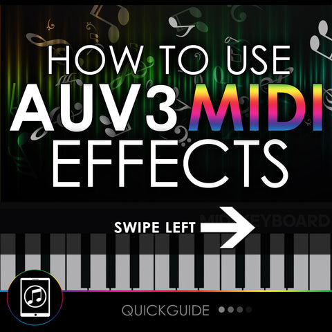 How To Use AUv3 Midi Effects In Cubasis 3
