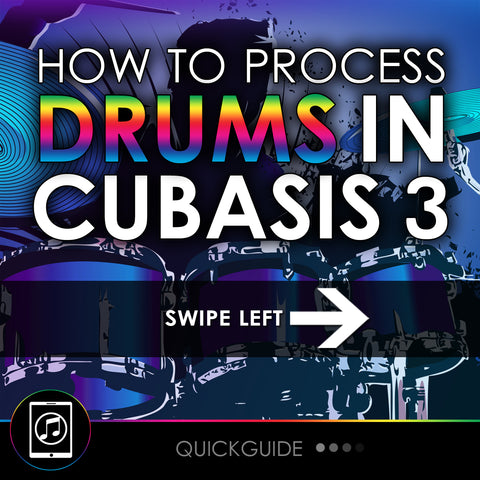 How To Process Drums In Cubasis 3