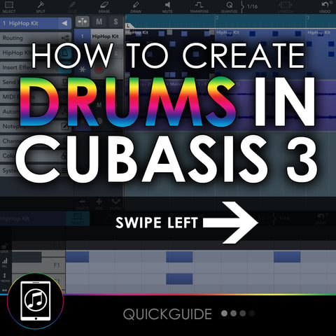 How To Create Drum Patterns In Cubasis 3