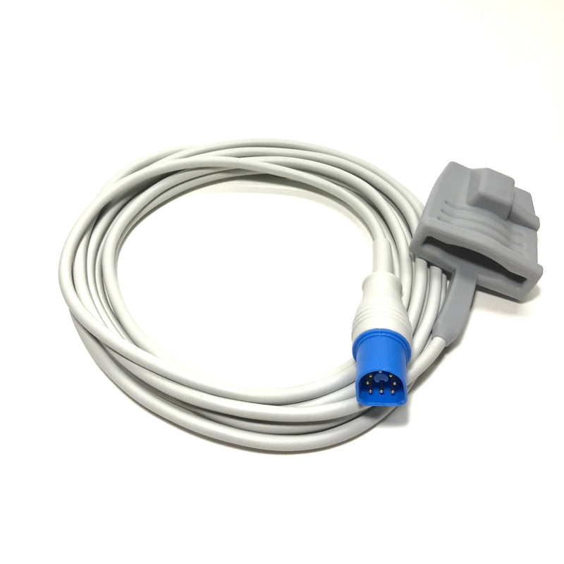 Philips M1191AL Compatible Direct-Connect 10ft SpO2 Soft Sensor