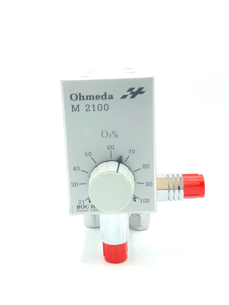 Ohmeda M2100 P/N 03800F High Flow Oxygen Blender (Refurbished)