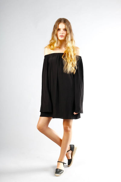 Otis & Maclain Eloise Dress in Black