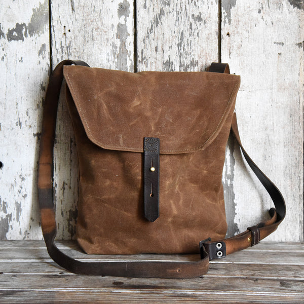 Peg & Awl Hunter Satchel in Spice