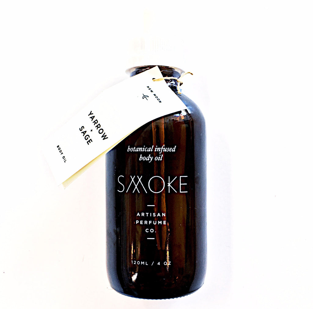 Yarrow & Sage Body Oil by Smoke Artisan Perfume Co.