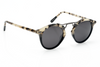 Krewe St. Louis Sunglasses in Oyster to Black Polarized