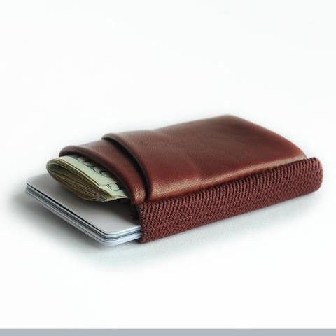 TGT 2.0 Deluxe Wallet in Oxblood