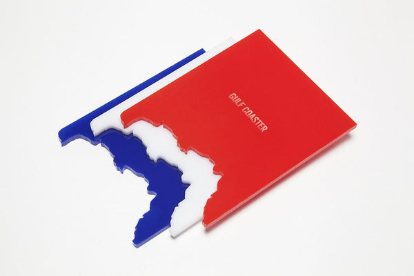 Red, White & Blue Gulf Coasters