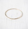 Gold Threadbare Stacking Ring