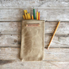 Peg & Awl Scribbler Pouch in Tumbleweed